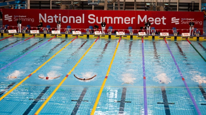 Qualification window for Swim England National Summer Meet is altered