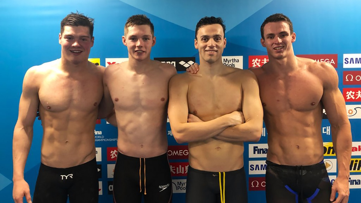 GB swimmers seal Olympic spot on opening day of World Championships