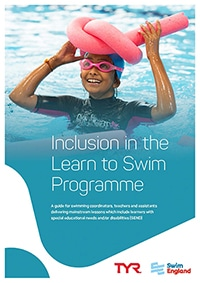 Swim England Inclusion in the Learn to Swim Programme Guide