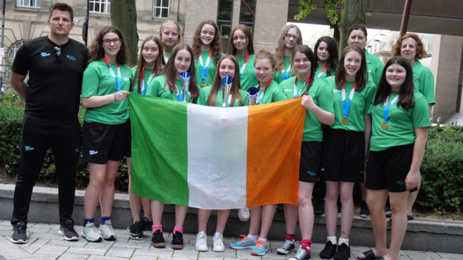 Perfect Ireland seal promotion at Inter-Regional Water Polo Championships