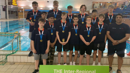 London crowned U16 Boys Inter-Regional water polo champions