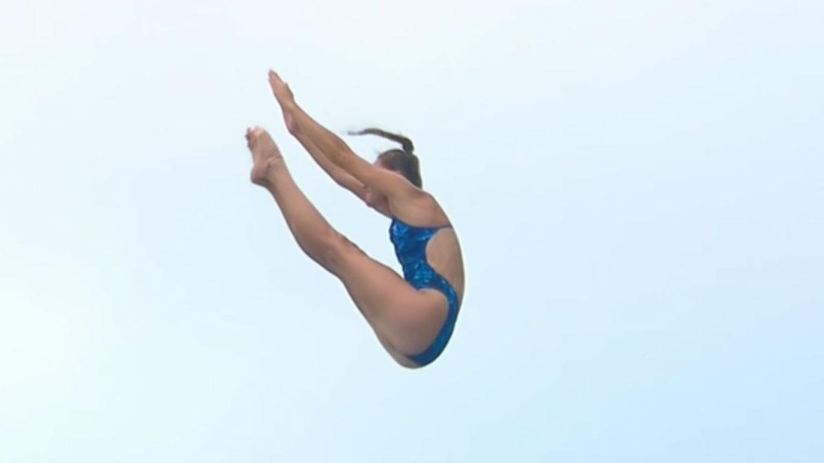 High diver Jess Macaulay