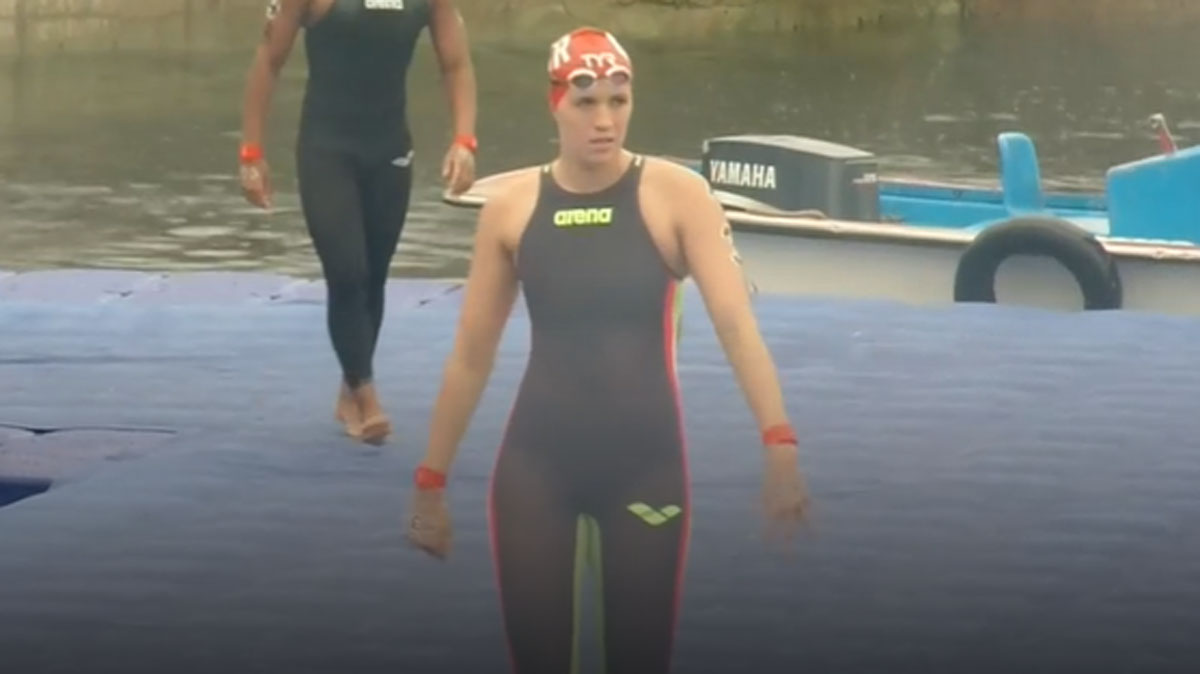 Challenging relay ends Britain's open water campaign at World Championships