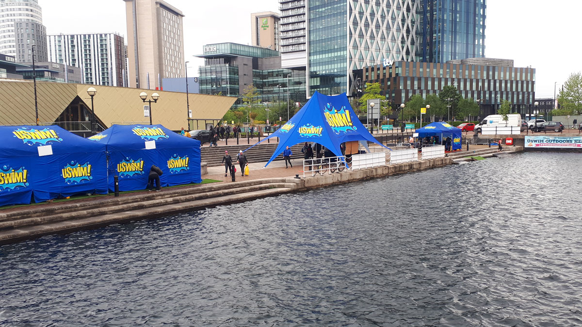 Salford Quays open water