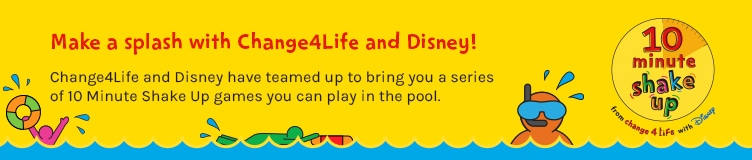 Make a splash with Change4Life and Disney