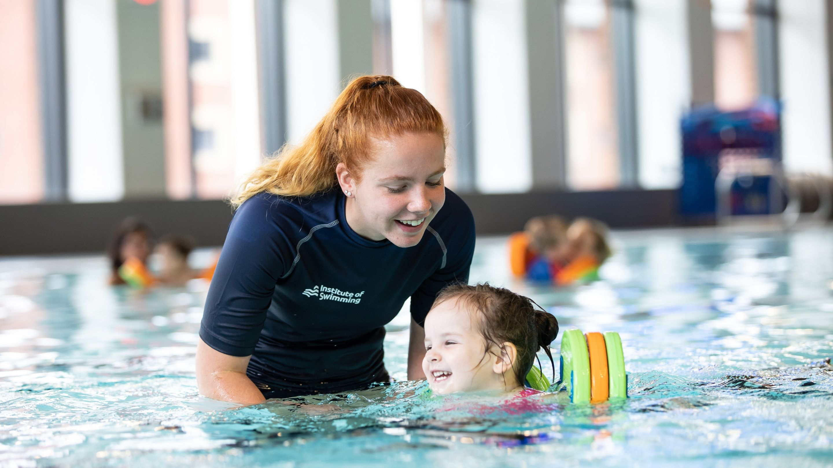 First qualification endorsed by CIMSPA assistant swimming teacher standard