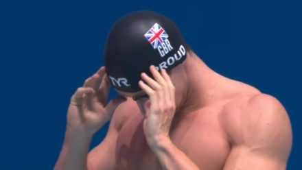 Ben Proud beaten in bid to retain his 50m Butterfly World Championships crown