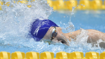 Conor Ballard sets new personal best to win first gold of National Summer Meet