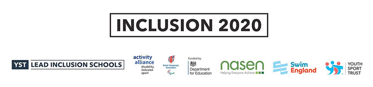 Inclusion 2020 logo.