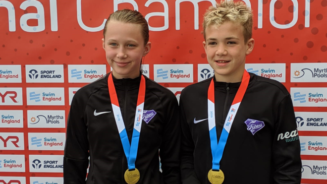 James Raw and Millie Wells secure gold medal double for Ellesmere Titans