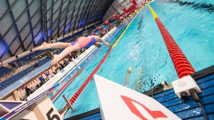 Swim England and UK Deaf Sport making swimming accessible with equal starts