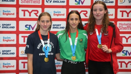 12-year-old Hollie Widdows shows blistering pace to win Summer Meet gold