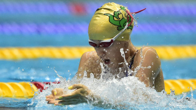 Prokas completes National Summer Meet hat-trick with 50m Breaststroke title