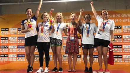 British swimmers sweep podium at World Masters Championships