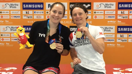 British swimming medal tally surpasses 50 at World Masters Championships