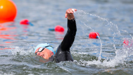 Masters swimmers prepare for open water challenge in Peterborough