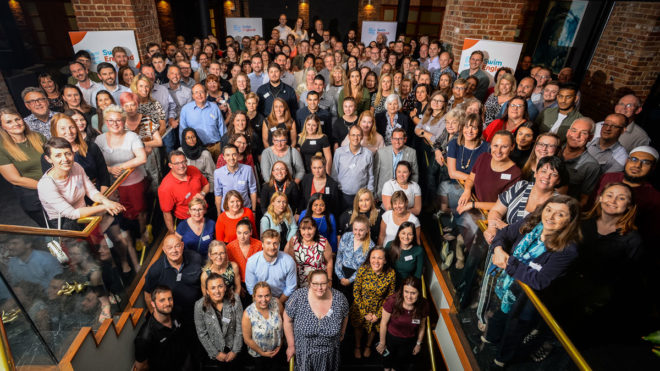 Swim England named as one of Sunday Times' Best Companies to Work For 2020