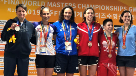 Brits making winning start to swimming campaign at World Masters Championships