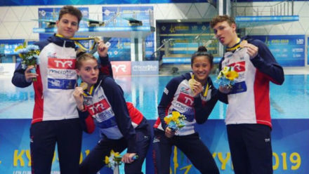 Bronze for Britain on opening day of European Diving Championships