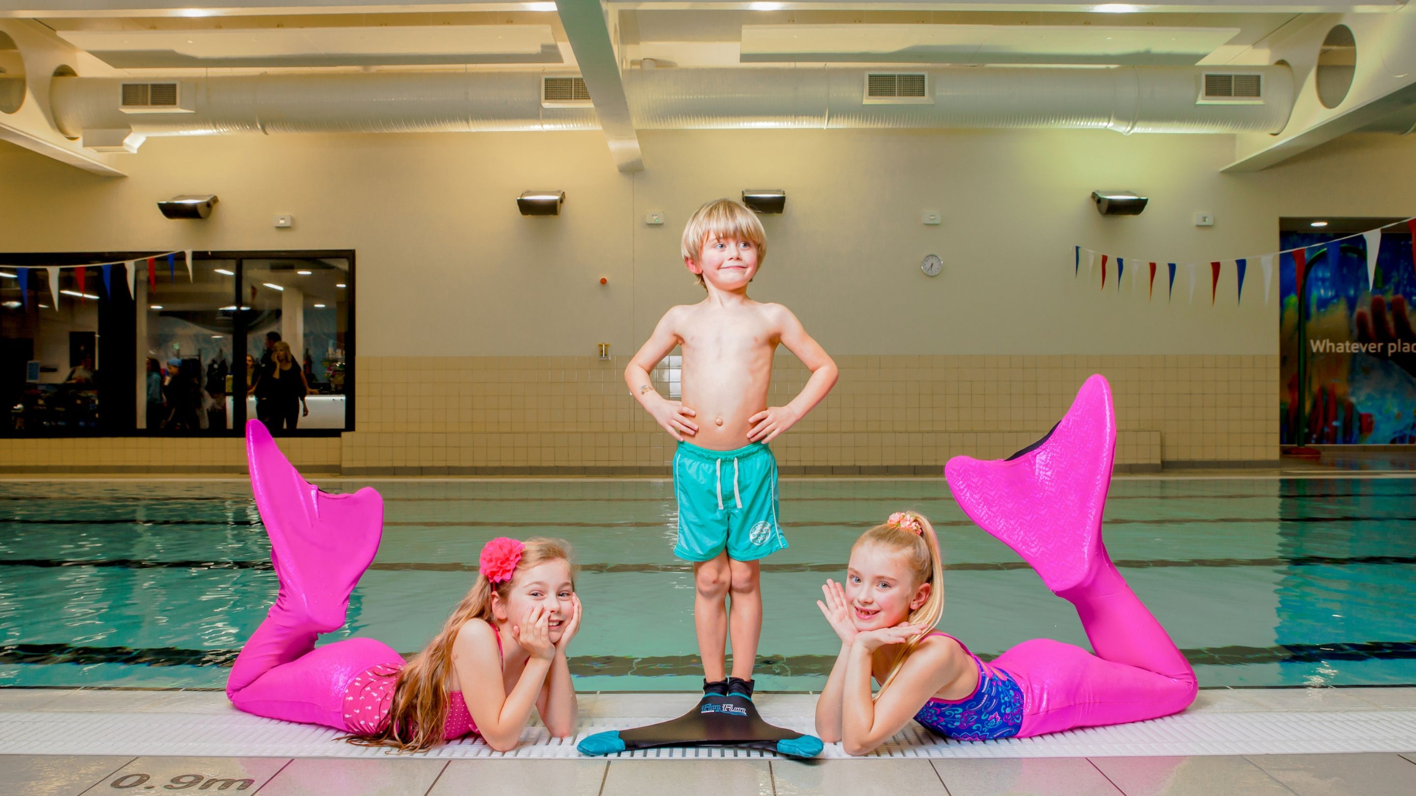 Institute of Swimming and Fin2Fit Collaborate to Deliver Children's Mono-Fin Mermaid and Shark Lessons