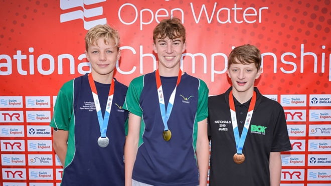 Alexander Cooper lands second Open Water Age Group title in emphatic style