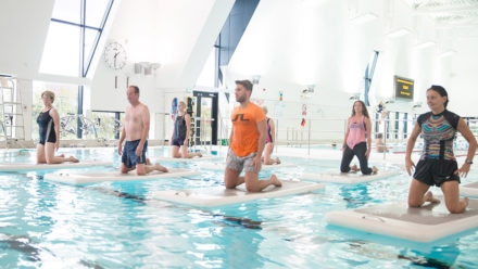 Swim England and AquaPhysical bid to get more people active in the pool
