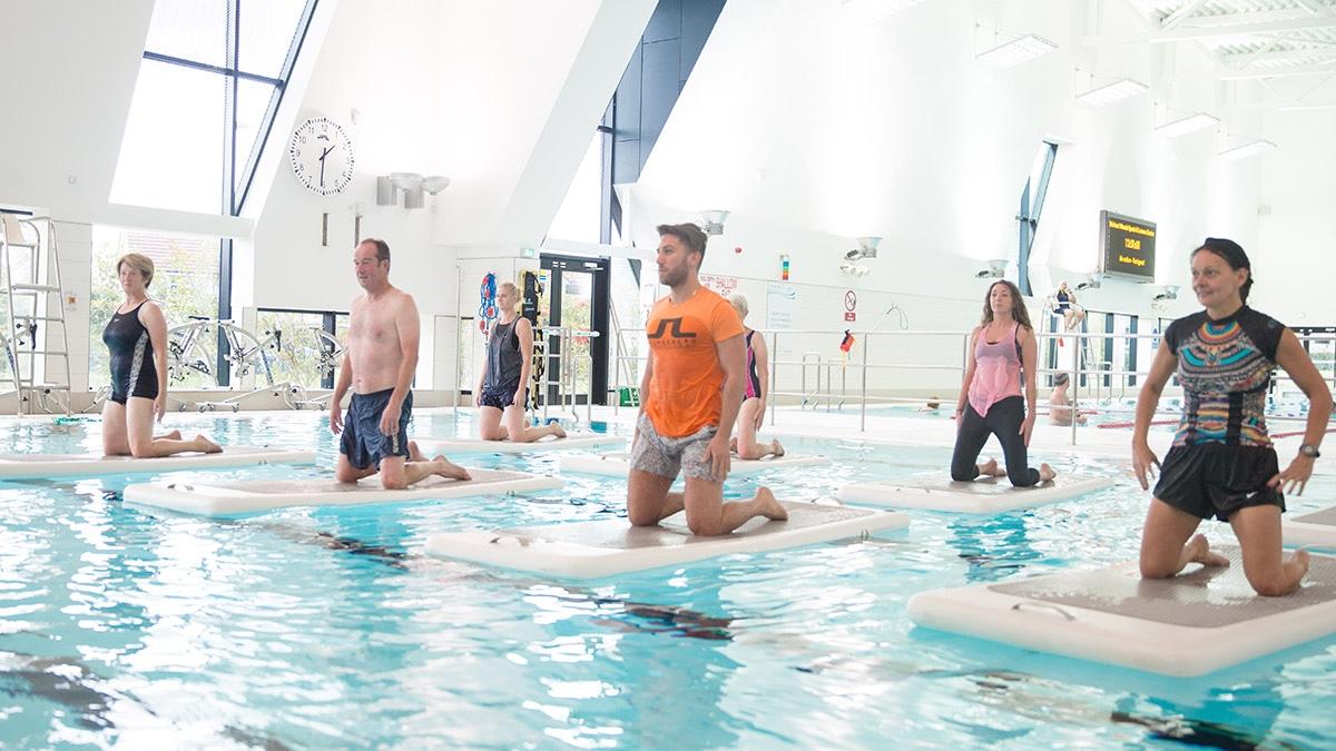 AquaPhysical FloatFit class