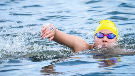 Livia Kingsland wins gold at debut Open Water National Age Group Championships
