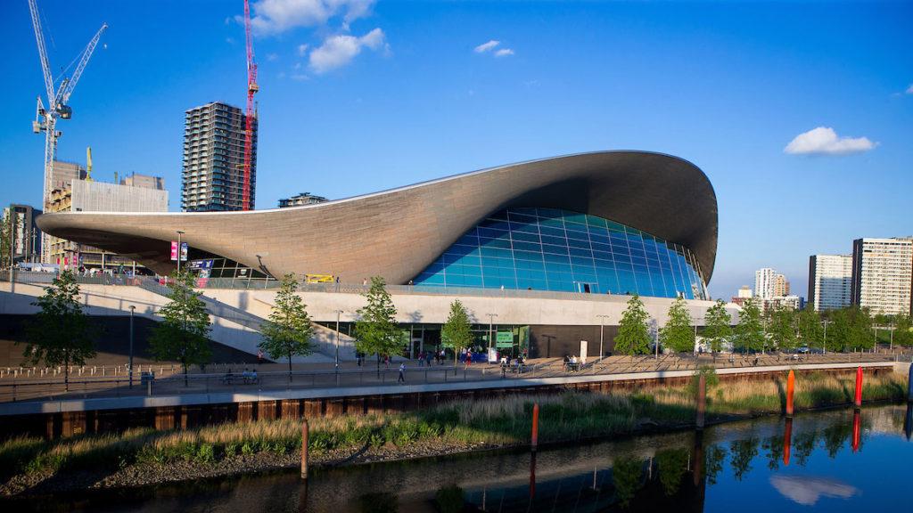 London Aquatics Centre gv