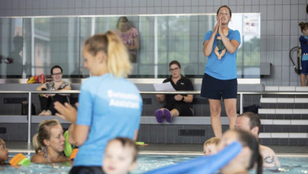 Five steps to becoming a swim teacher with Swim England Qualifications