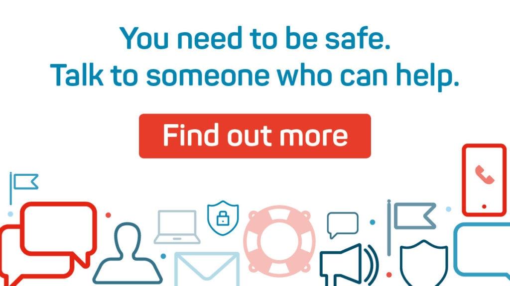Teen safeguarding leaflet