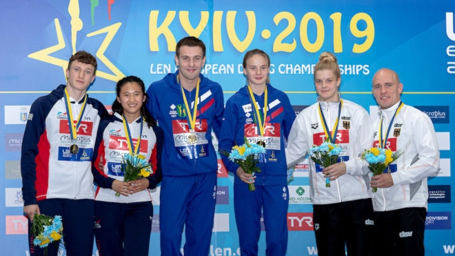Silver lining for Noah Williams and Eden Cheng in first competition together