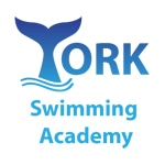 York Swimming Academy logo.