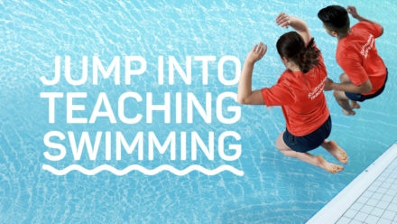 Thousands of learners 'jump into' swim teaching this summer