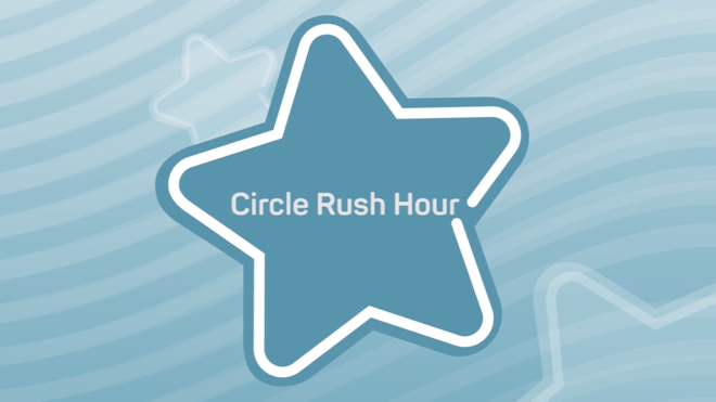 Learn to Swim games - Circle Rush Hour