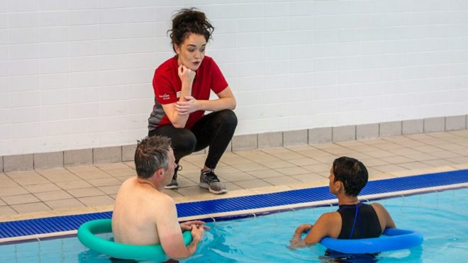 Hollie's story: Top tips on teaching adult swimmers