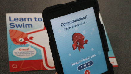 Swim England adds magic to swimming lessons with free My Learn to Swim app