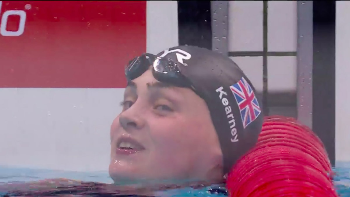 Tully Kearney won her third gold of the World Para Swimming Championships as she won the S5 50m Freestyle