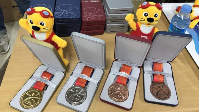 London medallists at World Masters Championships in Gwangju