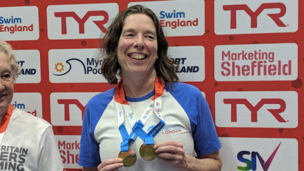 Amanda doubles up to break two British records on way to national titles