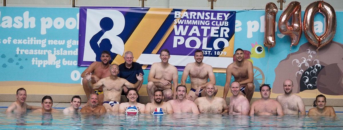 Barnsley water polo anniversary
