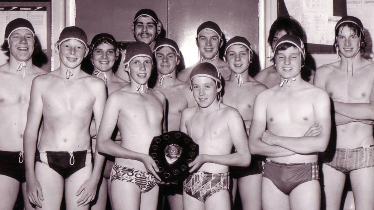 Barnsley water polo league winners 1978