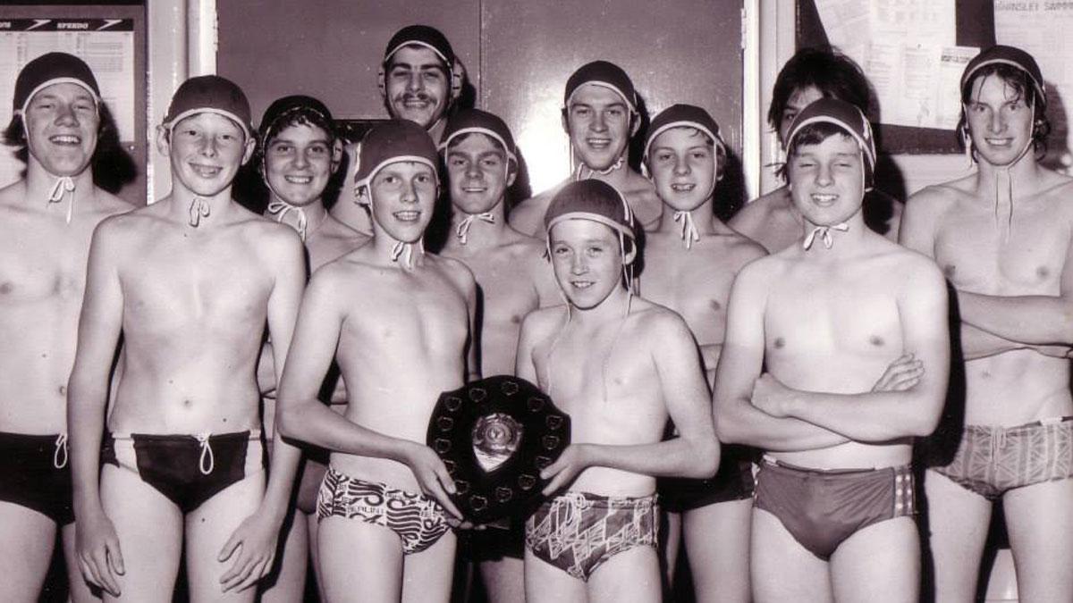 Barnsley water polo league winners 1978