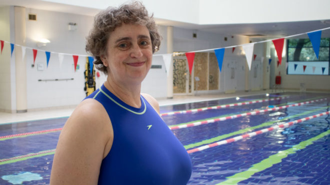 The 'feel-good factor' of being in the water ... why Louise values swimming