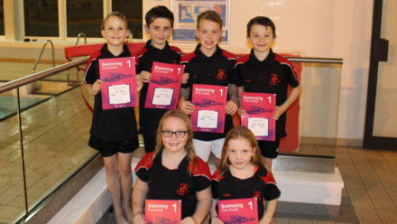 Swim England Club Awards provide added motivation for Rykneld youngsters