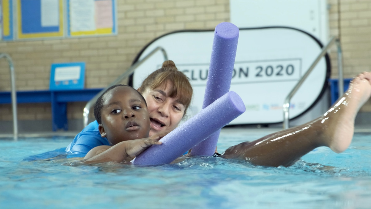 'Life-changing' Inclusion 2020 helps thousands start their learn to swim journey