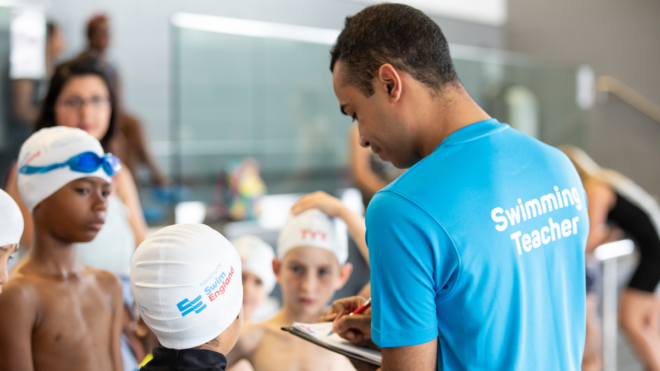 Have you logged on to Teaching School Swimming CPD?