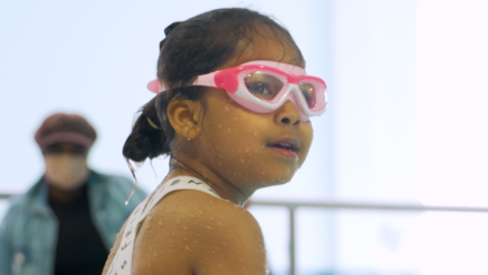 Book your little one into swimming lessons near you