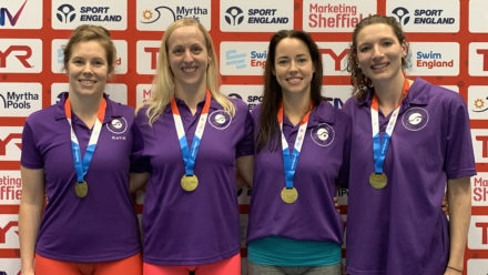 Birmingham and East Leeds relay teams shatter world records at National Champs