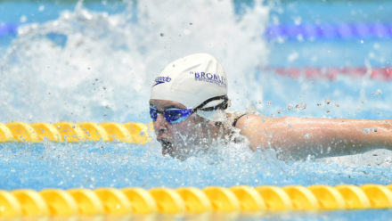Competitive swimming in London